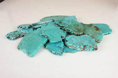 Turquoise Gemstone Rough Slab Lot 250-5000 Ct Natural Arizona Mine Kingman