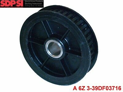 """SDP .200"""" (XL) Pitch,39 Teeth, 0.5"""" Bore, Polycarbonate Timing Pulley BLACK sync"""