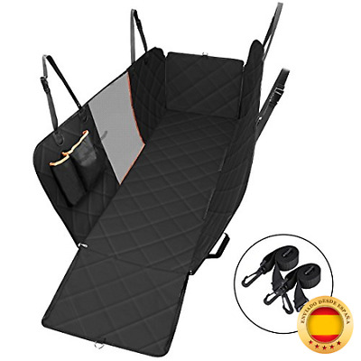 OMORC Cubierta Asiento Coche Perro, Funda Asiento para Mascota, Impermeable Ant