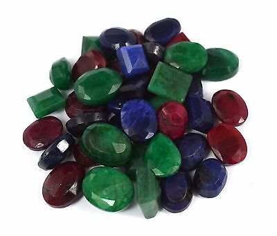 Natural Mix Shape African Loose Ruby Gemstone Lot 103-1003 Ct