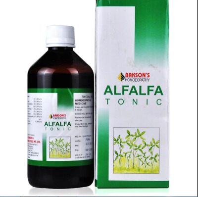 Bakson Alfalfa Tonic 100ml General Tonic Helps Improve Appetite Anaemia Weakness