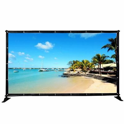 Heavy-Duty Business Repeat Backdrop Telescopic Banner 10' Stand Adjustable US VQ