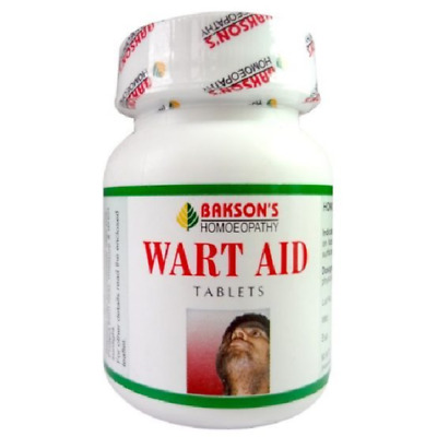 BAKSON'S Wart Aid 75 Pills for  warts, corns and epithelial Tumours.