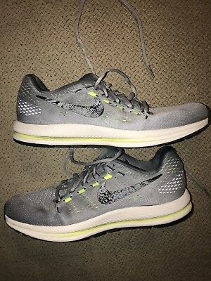 385c27c9dd7 Men s Size 9 NIKE AIR ZOOM VOMERO 12 RUNNING SHOES WOLF GREY BLACK 863762-
