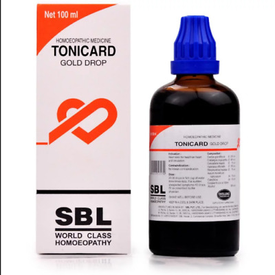 SBL Tonicard Drops (100ml) Reduces Palpitations, Relieves Anxiety, Pain in Heart