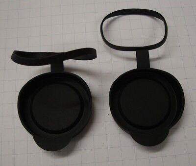 Rubber stay on lens cover caps fits 7x42 8X42 10X42 42mm binoculars -Nikon Leica