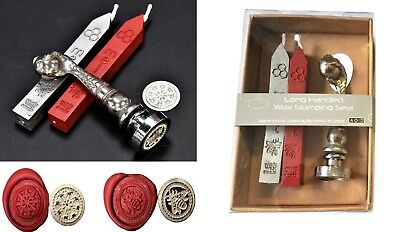 Bee & Snowflake Pewter Birds Claw Handle Wax Seal KIT or Coins /Wax only XPWS-BC
