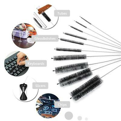 10pcs Wire Straw Brush Cleaner Bottle Tube Pipe Small Long Cleaning Kits Tools