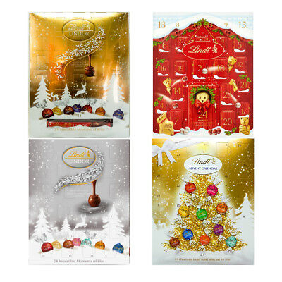 Lindt Lindor Chocolate Collection  Selection Advent Calendar Christmas Gift Pack