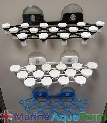Marine 15 Hole Coral Suction Frag Rack, Reef Aquarium, Fish Tank Frags