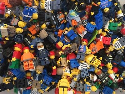 X30 LEGO MINIFIGURES 0.1kg (100 grams)  - MIXED VARIETY PACKS