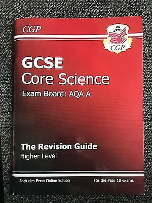 GCSE Core Science AQA Revision Guide-Higher Level