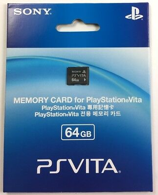 SONY 64GB PSVITA Playstation Memory Card Brand New