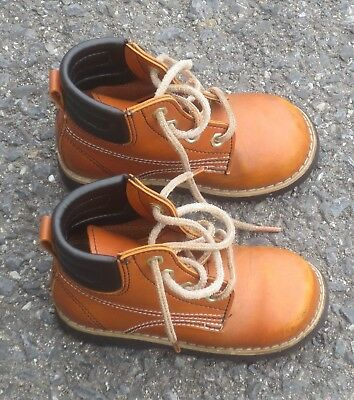 Vintage Sz.5 Toddler Boys Dyna Kids Work Boots 2-4 year olds (+/-) FREE SHIPPING
