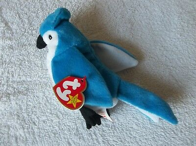 TY Beanie Baby ROCKET  1997 Excellent Condition Rare/Retired, TAG ERROR!