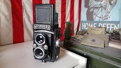 Microflex Mpp. Good condition, untested vintage camera. 40s 50s 60s. Film camera