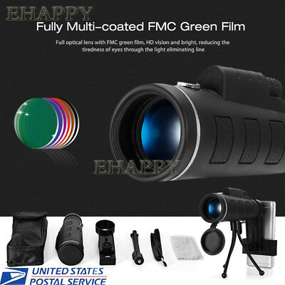 High Power Monocular Telescope Scope HD Prism Scope for Adults Bird Watching Hun