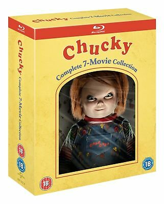 Blu Ray CHUCKY complete collection. Child's Play 1 2 3 4 5 6 & 7 box set. New.