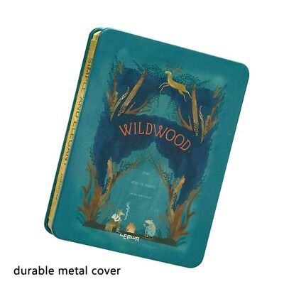 """Simple and Elegant """"Wildwood"""" Metal Frame Cover Journal Pocket A6, 256 Page Bujo"""