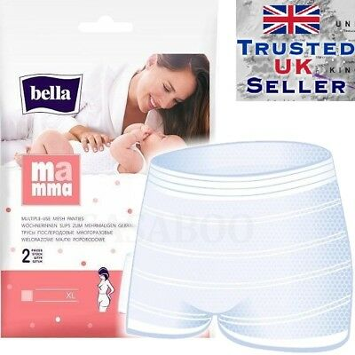 Bella Mamma Reusable Postpartum Maternity Briefs Size M/L & XL 2 pcs