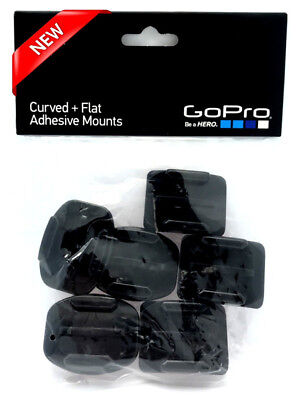 GoPro Curved + Flat Adhesive Mounts Hero 7/6/5/4/3/Session AACFT-001 NEW SEALED