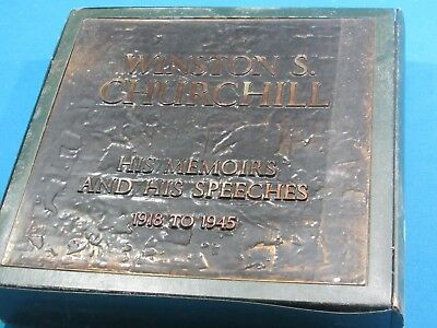 Winston S. Churchill - His Memoirs And His Speeches 1918 - 1945 On 12 Vinyl By
