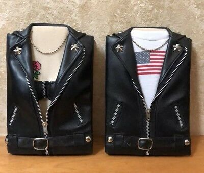 Motorcycle Biker His and Hers Photo Picture Holder Albums