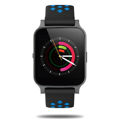Smartwatch Bluetooth Armband Uhr iOS Android Fitness Stimmenkontrolle Musik DHL