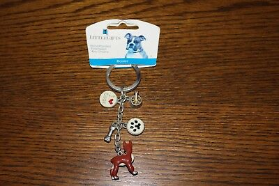 Little Gift Dog Key Chain BOXER
