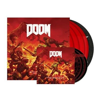 Doom 4Xlp / 2Xcd (Special Limited Edition Red Vinyl / Slipmat / Slipcase) Rare