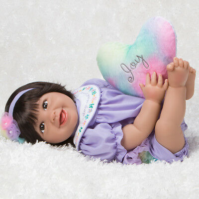 Paradise Galleries Mexican Baby Doll Hispanic Reborn Rainbow Blessings: Joy