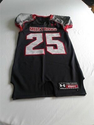 NEW UNDER ARMOUR SMU Southern Methodist Men s M Mustangs Football ... f0a34c74b