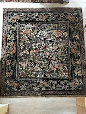 M J Whittall Anglo Persian Bird Of Paradise Wool Area Rug