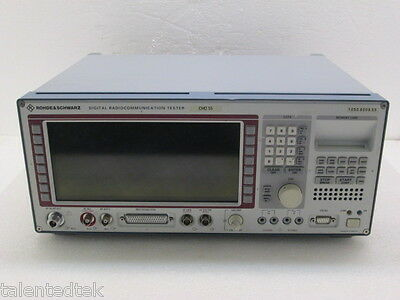 Rohde & Schwarz CMD 55 Digital Radio Comm Tester - Loaded with Options