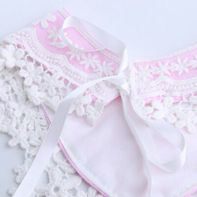 Newborn Baby Girl Bib Lace Cotton Infant Triangle Bandana Boho Drool Saliva G
