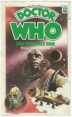 Doctor Who The Space War Malcolm Hulke Target 1976 1st Paperback Good Condition
