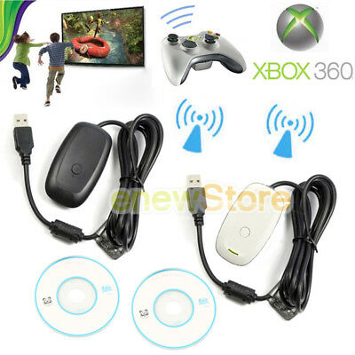 For Microsoft Xbox 360 USB Wireless Receiver Controller Adapter for Windows PC