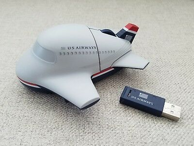 US Airways Collectible Wireless Mouse *Rare*