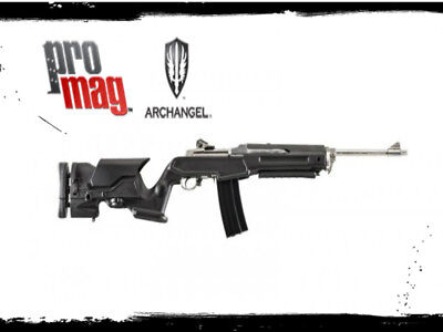 PROMAG ARCHANGEL STOCK Adjustable Ruger 10/22 Black Finish