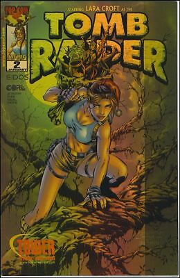 Tomb Raider: The Series #2-C Nm Tower Records Holofoil Rare