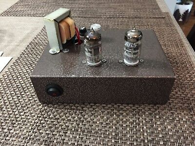 Stereo Phono Tube PreAmplifier 12AU7 - 100% hand built Stereo Tube Preamplifier