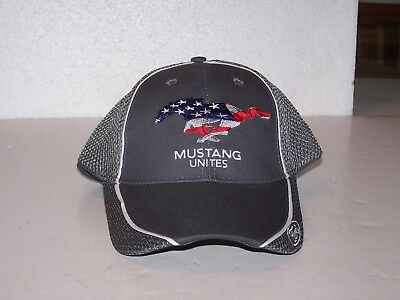 New not worn no tags Ford Mustang Unites EAA Airventure Oshkosh WI hat cap FCM