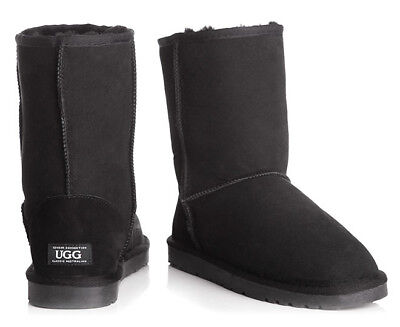 """""""OZWEAR Connection Unisex Classic 3/4 Ugg Boot - BlackEU 41/42 43 44 46"""" (T413)"""