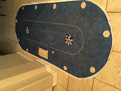Very Rare Flamingo Hotel Casino World Poker Tour Table Layout Wpt Poker Felt