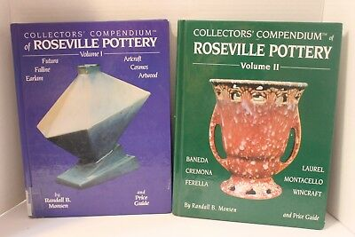 Collectors' Compendium of Roseville Pottery Volumes I & II by Randall B. Monsen