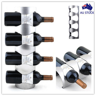 AU Magic Chain Wine Bottle Storage Organizer Holder Rack Stand Bracket Display