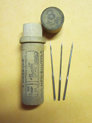 Weed FF & Domestic Fiddlebed 1x4  Sewing Machine Needles  / Boye