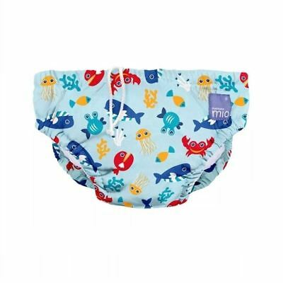 Bambino Mio Reusable Swim Nappy Deep Sea Blue 2yrs+ 1 2 3 6 12 Packs