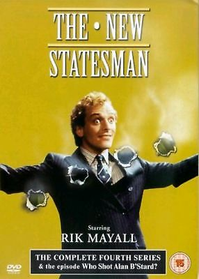 The New Statesman The Complete 4th Series Dvd Rik Mayall New & Factory Sealed
