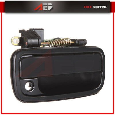 Exterior Outer Black Front RH Passenger Side Door Handle for 95-04 Toyota Tacoma